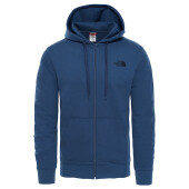 M Open Gate Full Zip Hoodie Light